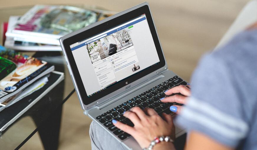 Presença nas Redes Sociais
